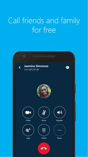 Android Skype - free IM & video calls Screen 7