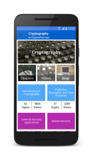 Cryptography 5.4 Screen 7