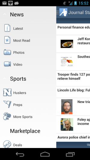 Android Journal Star Screen 3