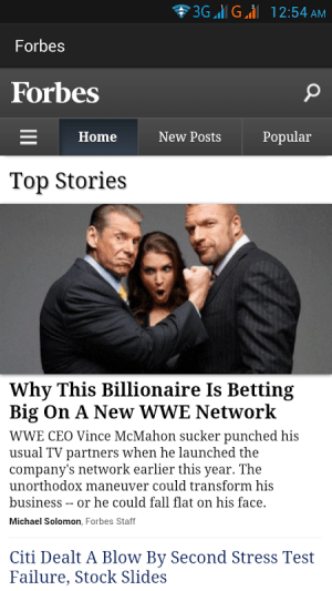 Android US Newspapers and Magazines Screen 3