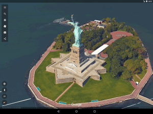 Android Google Earth Screen 1