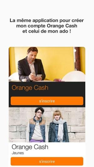 Android Orange Cash Screen 5