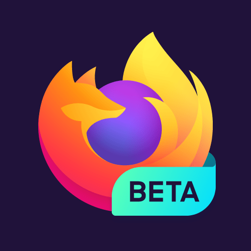 Firefox for Android Beta 68.5 icon