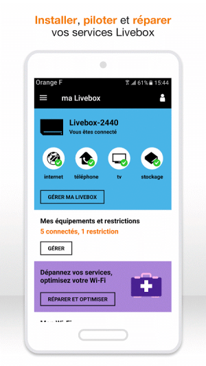 Android ma Livebox Screen 20