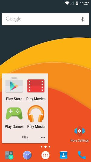 Nova Launcher 5.0 Screen 11
