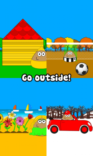 Android Pou Screen 1