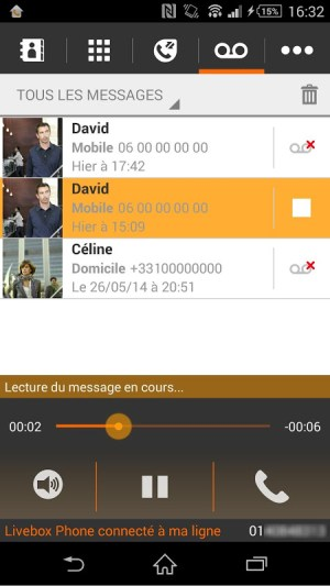 Android Livebox Phone Screen 5