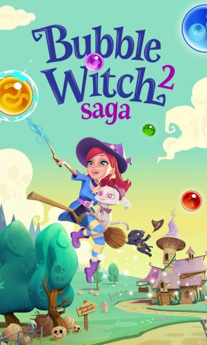 Android Bubble Witch 2 Saga Screen 13