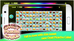 Onet Picachu Cake 1.0.0 Screen 5