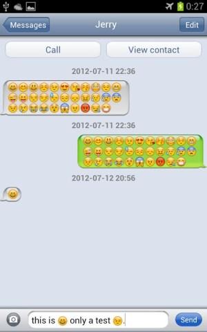iPhone Message Emoji plugin 1.04 Screen 3