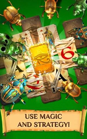 Android Pyramid Solitaire Saga Screen 1