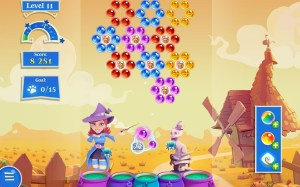 Android Bubble Witch 2 Saga Screen 6