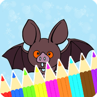 Coloring Pages Bats Book 1 icon