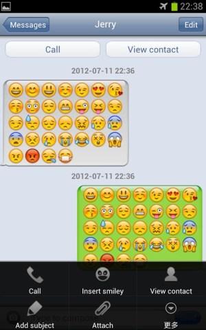 iPhone Message Emoji plugin 1.04 Screen 2