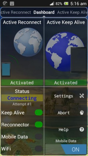 Connection Stabilizer Booster 1.8.1 Screen 7