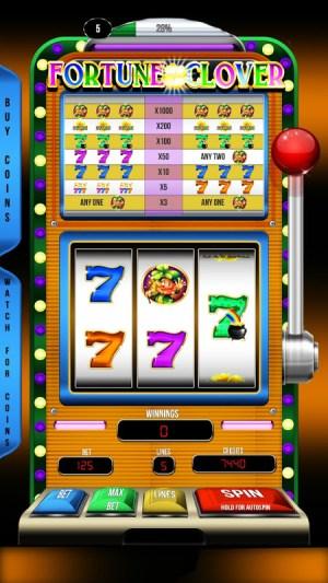 Casino Slots Fortune Clover 1.01 Screen 1