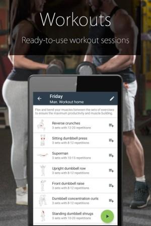 Fitness Coach FitProSport 4.54 Screen 3