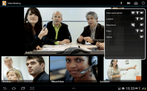 Android Video Meeting Screen 3