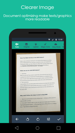 Android CamScanner -Phone PDF Creator Screen 15