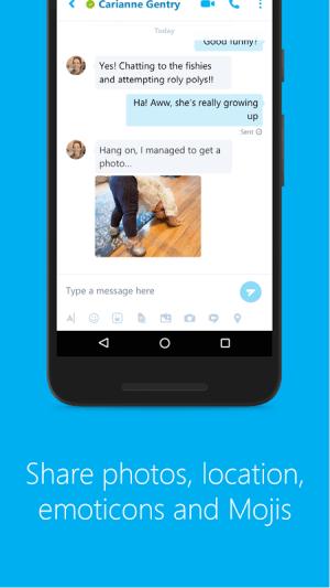 Android Skype - free IM & video calls Screen 8