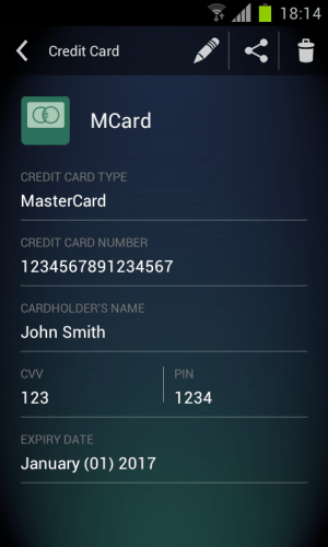 Android AVG Vault Screen 10