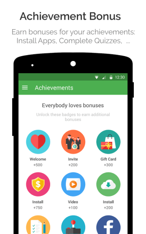 Android appKarma Rewards & Gift Cards Screen 2