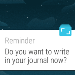 Android Journey - Diary, Journal Screen 2