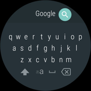 Android Google Japanese Input Screen 1