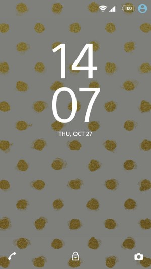 XPERIA™ Golden Theme 1.0.1 Screen 6
