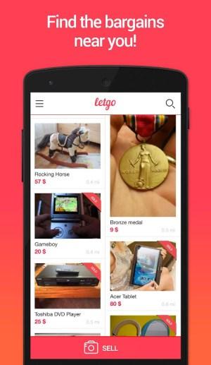 letgo: Buy & Sell Used Stuff 1.5.7 Screen 1