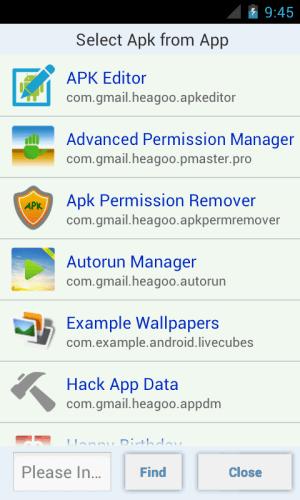 APK Editor Pro 1.7.0 Screen 5