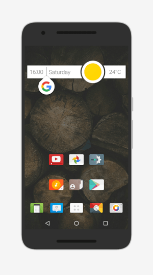 Android Nougat for Zooper Screen 4