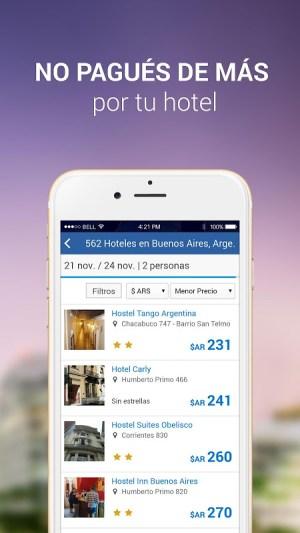 Android Turismocity Vuelos Baratos Screen 1