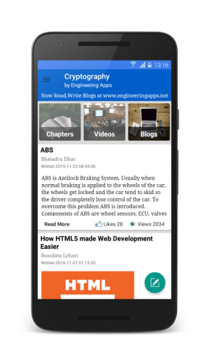 Cryptography 5.4 Screen 2