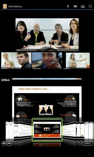 Android Video Meeting Screen 1