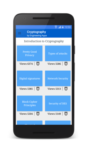 Cryptography 5.4 Screen 6