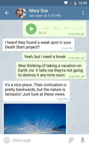 Telegram 1.0.1 Screen 11