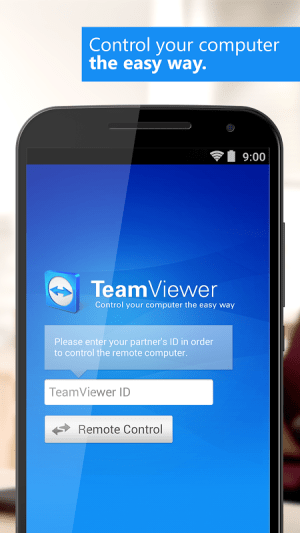 Android TeamViewer for Remote Control Screen 9