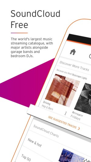 Android SoundCloud - Music & Audio Screen 5