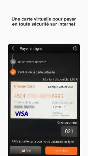 Android Orange Cash Screen 1