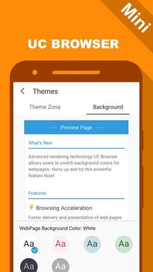 UC Mini - UC Browser New Guide 1.1 Screen 2