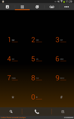 Android Livebox Phone Screen 2