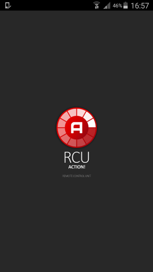 Action! RCU 1.0.5 Screen 1
