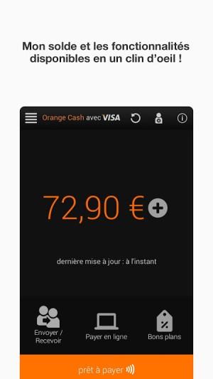 Android Orange Cash Screen 4