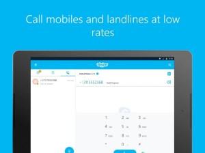 Android Skype - free IM & video calls Screen 2