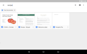 Android Google Drive Screen 2