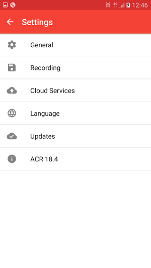 Android Call Recorder - ACR Screen 9