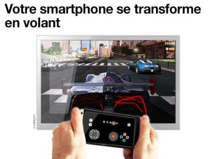 Android Manette TV d'Orange Screen 2