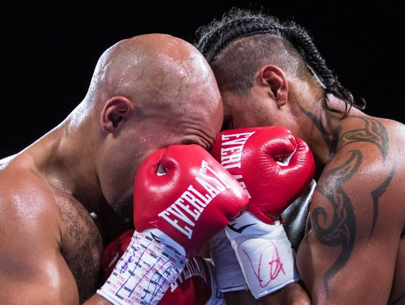 Photos  A night of boxing at the Armory in Minneapolis   MPR News 5 Caleb Truax and Fabiano Pena go toe to toe in the final match of the  night during the Premier Boxing Champions event  Lacey Young   MPR News  Boxing