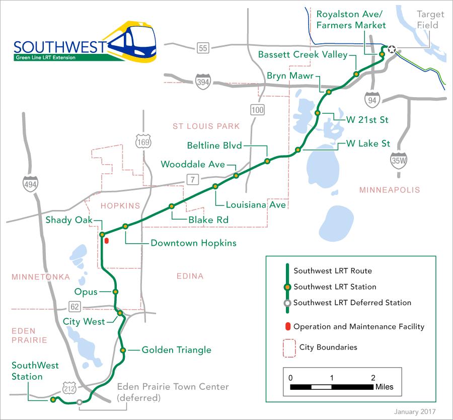 Minneapolis Light Rail Schedule